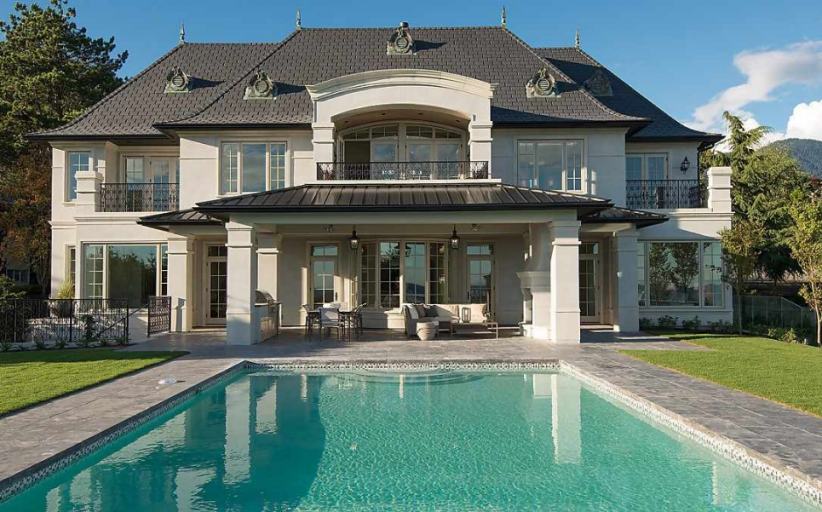 $24 Million Newly Built European Inspired Mansion In West Vancouver, Canada