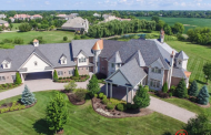 11,000 Square Foot Brick Mansion In South Barrington, IL