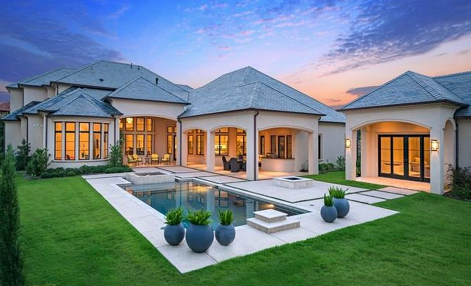 3 895 Million Newly Built Mansion In Westlake Tx Homes
