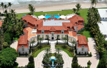 35,000 Square Foot Mediterranean Oceanfront Mega Mansion In Palm Beach, FL Re-Listed For $74.5 Million