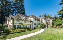 $13.5 Million French Normandy Home In Hillsborough, CA