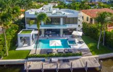 $10.9 Million Modern Waterfront Home In Golden Beach, FL
