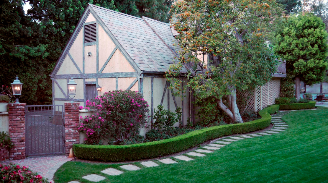 The Harry Warner Estate In Beverly Hills Ca Homes Of
