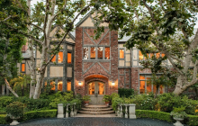 The Harry Warner Estate In Beverly Hills, CA