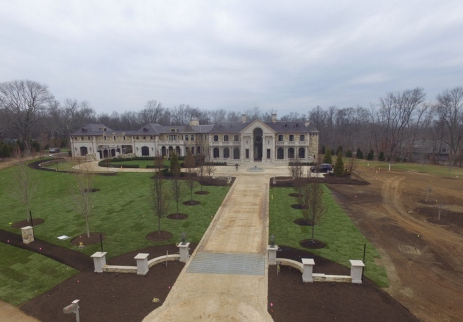 Newly Built Mega Mansion In Far Hills Nj Homes Of The Rich