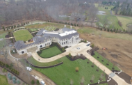 Newly Built Mega Mansion In Far Hills, NJ