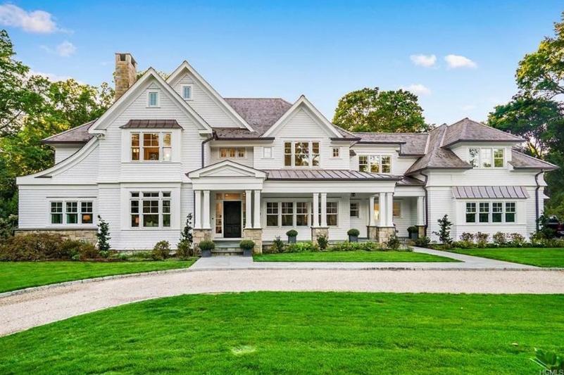 $6.995 Million Newly Built Shingle Mansion In Rye, NY