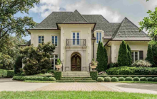$3.2 Million Brick Home In Raleigh, NC