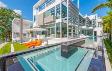 $20 Million Newly Built Modern Waterfront Home In Miami Beach, FL
