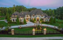 16,000 Square Foot Stone Mansion In Alpharetta, GA Re-Listed