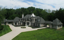$2.975 Million Brick Mansion In Bloomfield Hills, MI