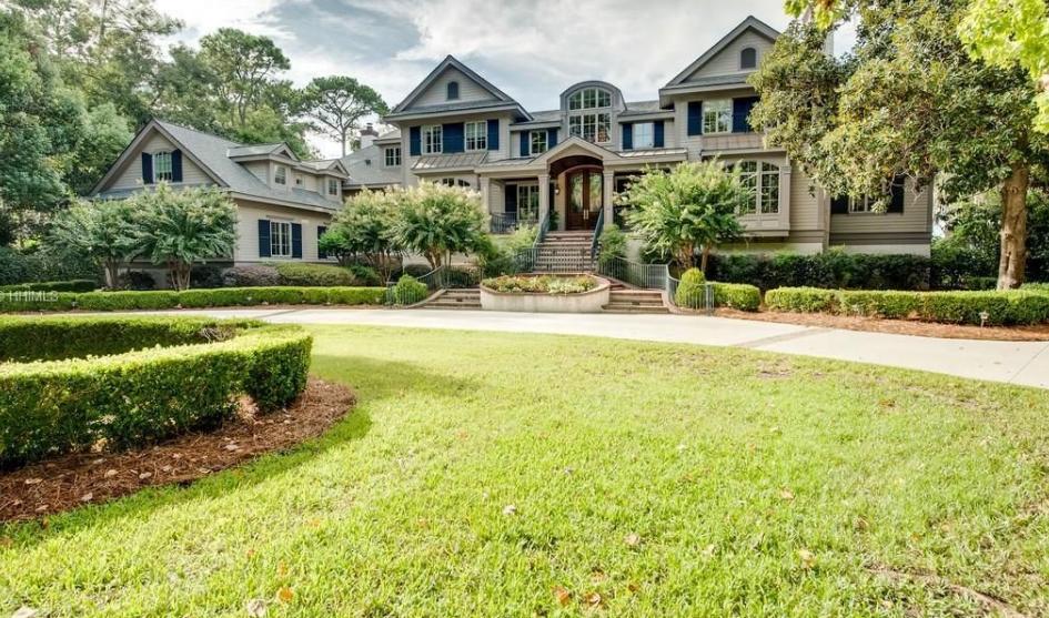 $6.9 Million Waterfront Mansion In Hilton Head Island, SC