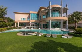 21,000 Square Foot Contemporary Villa In Dubai