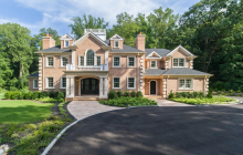 $3.5 Million Newly Built Colonial Brick Home In Locust Valley, NY