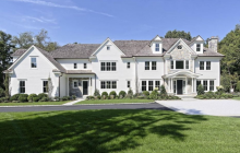 $6.25 Million Newly Built Colonial Mansion In Greenwich, CT