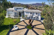 15,000 Square Foot Mansion In Calabasas, CA