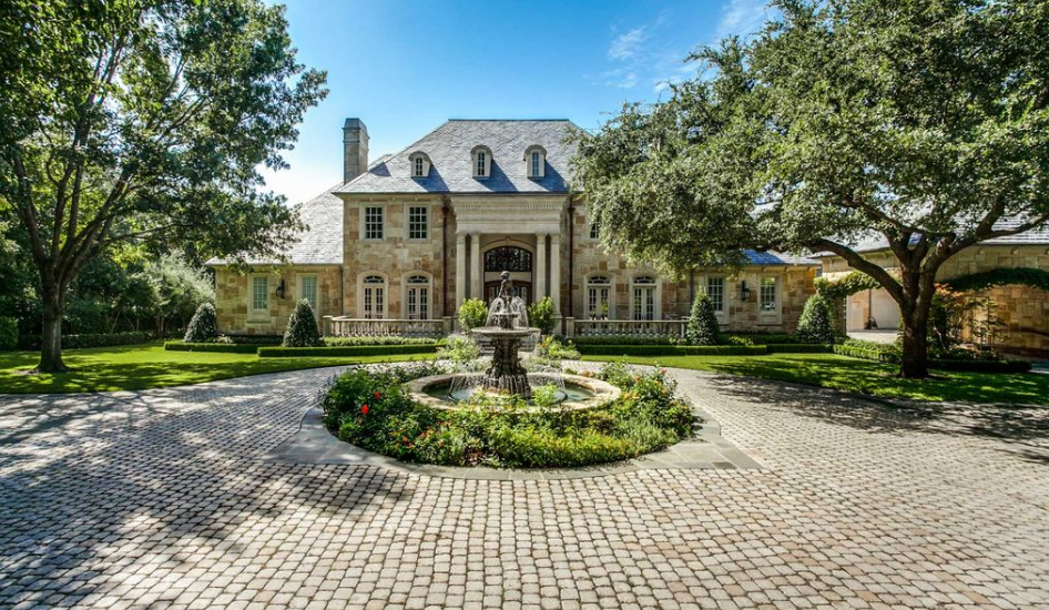 $11.5 Million French Country Mansion In Dallas, TX