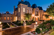 3 Stately French Chateau Inspired Mansions In Beverly Hills