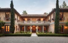 $18 Million Italian Inspired Home In Ross, CA