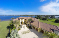 13,000 Square Foot Newly Built Waterfront Mansion In Jupiter, FL