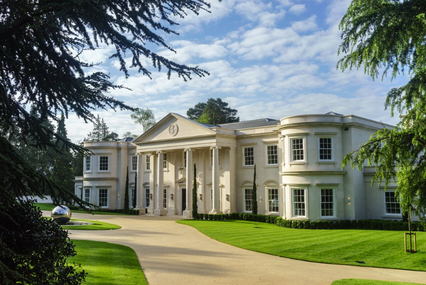 Dawn Hill A 26 000 Square Foot Newly Built Limestone Mega Mansion In Surrey England Homes
