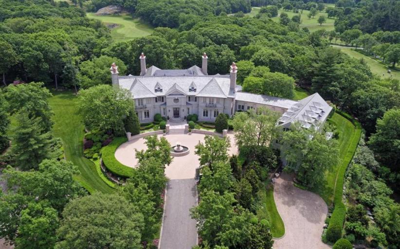 Reebok Billionaire's $90 Million Massachusetts Mega Mansion