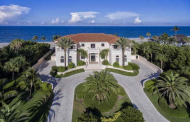 12,000 Square Foot Oceanfront Mansion In Stuart, FL