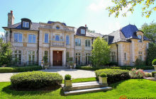 11,000 Square Foot Stone Mansion In Northfield, IL