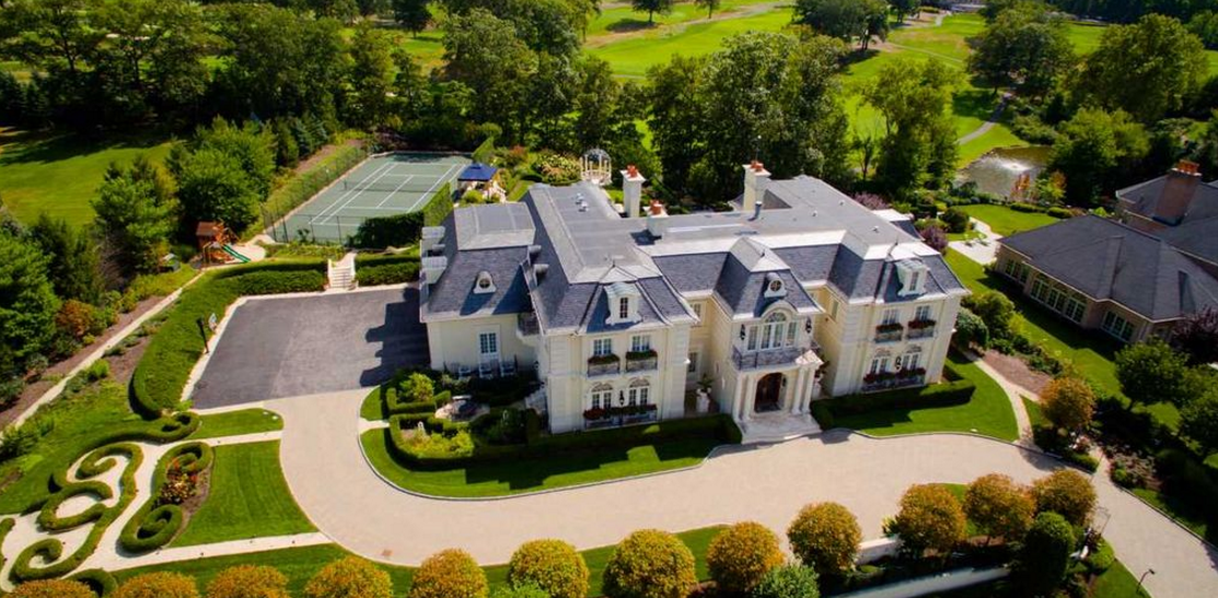 18 000 Square Foot French Chateau In Cresskill Nj Re