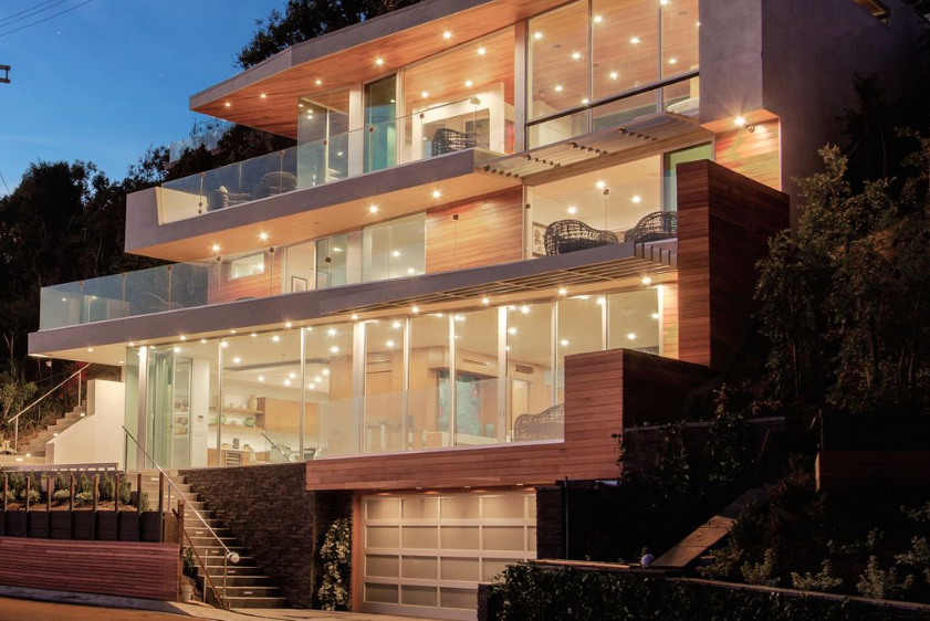 $5.35 Million Newly Built Contemporary Home In Pacific Palisades, CA