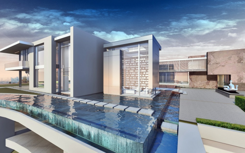 Footage Of The $500 Million 100,000 Square Foot Bel Air Spec House
