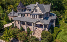 $2.895 Million Victorian Mansion In Franklin, TN