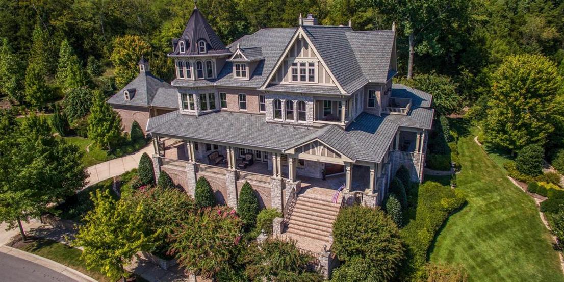 2 895 Million Victorian Mansion In Franklin Tn Homes