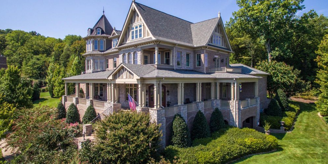 Million Victorian Mansion In Franklin Tn Homes