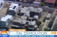 $70 Million Unfinished Mega Mansion In Perth, Australia Demolished