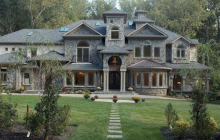 14,000 Square Foot Newly Built Brick & Stone Mansion In McLean, VA