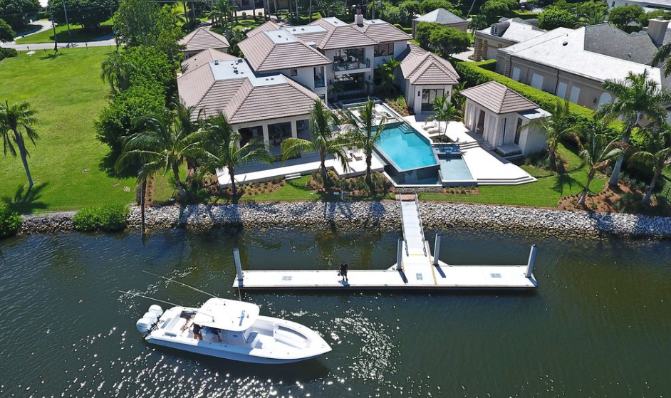 $22.95 Million Newly Built Waterfront Mansion In Naples, FL