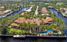 23,000 Square Foot Waterfront Mega Mansion In Fort Lauderdale, FL