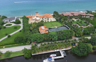 $43.9 Million Newly Built Oceanfront Estate In Manalapan, FL