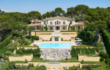 11,000 Square Foot Villa In Cannes, France