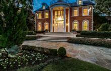 $4.25 Million Georgian Brick Home In Dallas, TX