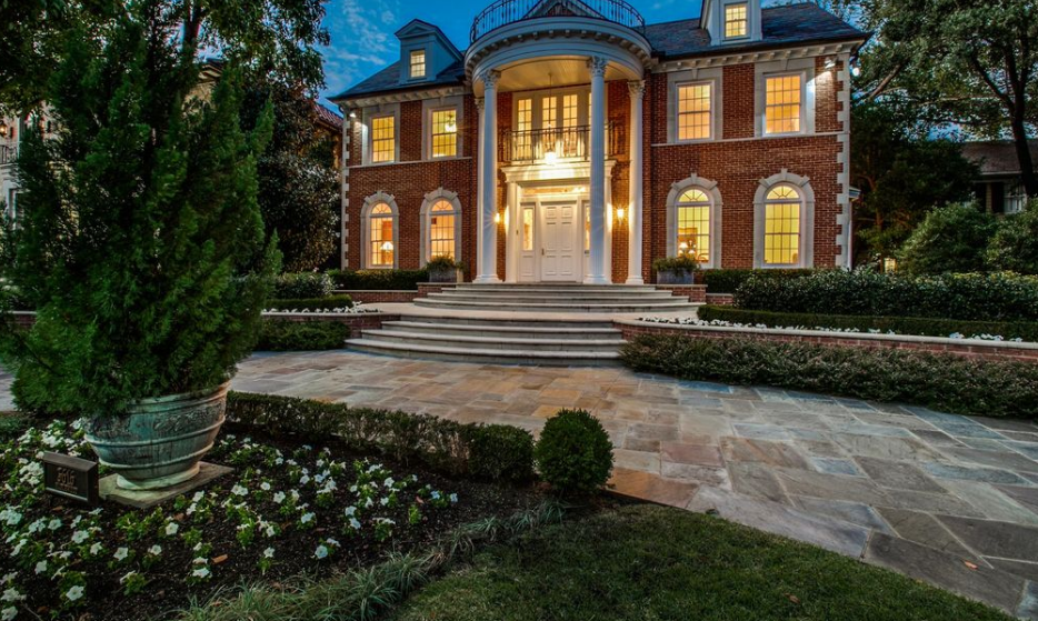 $4.25 Million Georgian Brick Home In Dallas, TX