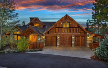 $3.795 Million Newly Built Wood & Stone Home In South Lake Tahoe, CA
