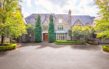11,000 Square Foot English Manor In Newtown Square, PA