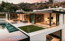 $25 Million Newly Built Modern Home In Los Angeles, CA