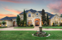 $1.85 Million Stone & Stucco Mansion In Heath, TX