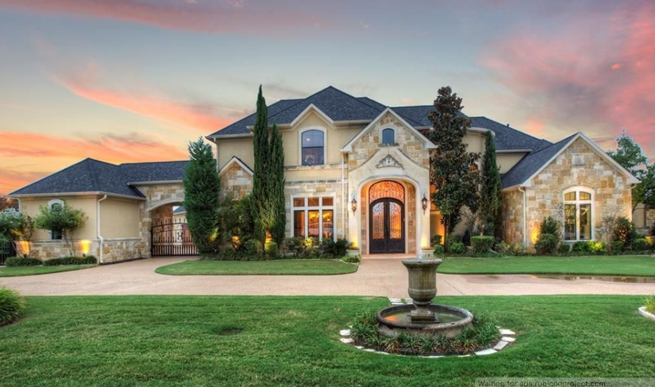 $1.85 Million Stone & Stucco Mansion In Heath, TX