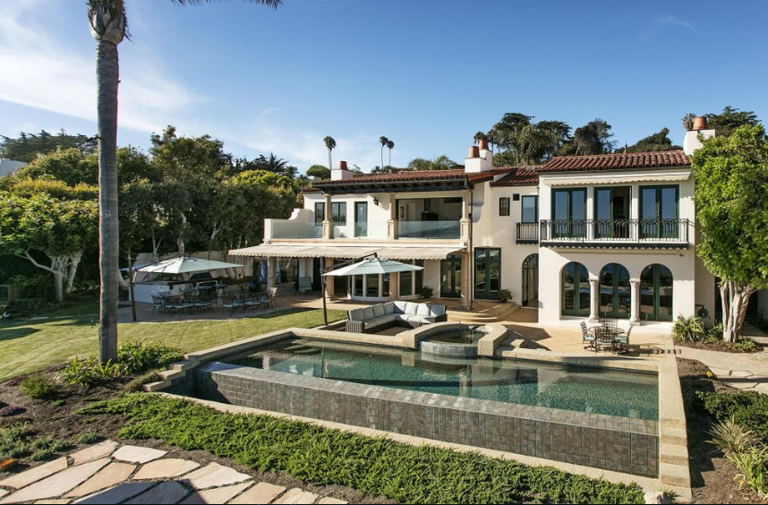 $19.5 Million Oceanfront Home In Santa Barbara, CA