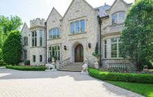 10,000 Square Foot Stone Mansion In Northfield, IL