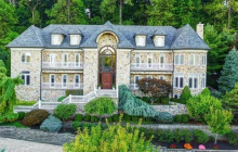 11,000 Square Foot Stone Mansion In Watchung, NJ